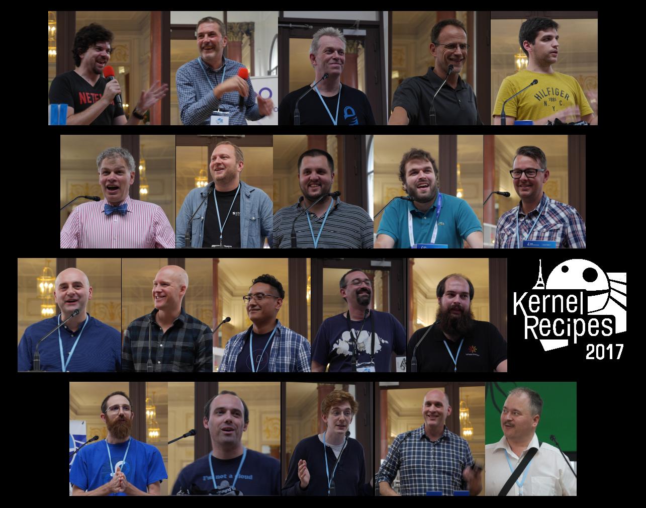 Kernel Recipes 2017 speakers