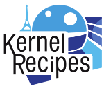 Kernel Recipes conference logo